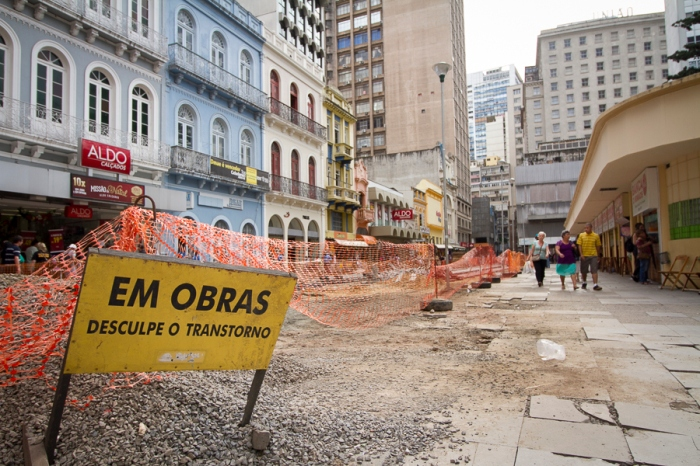 Obras foram retomadas há duas semanas | Foto: Filipe Castilhos/Sul21