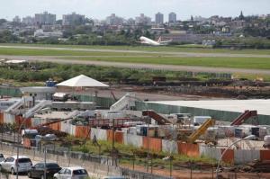 Ampliação do terminal de passageiros enfrenta demora, mas Infraero garante conclusão Foto: Fernando Gomes / Agencia RBS