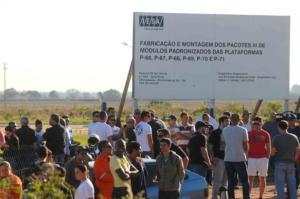 Magistrada ordenou ainda o sequestro judicial especialmente de compressores que estão no pátio | Foto: Samuel Maciel