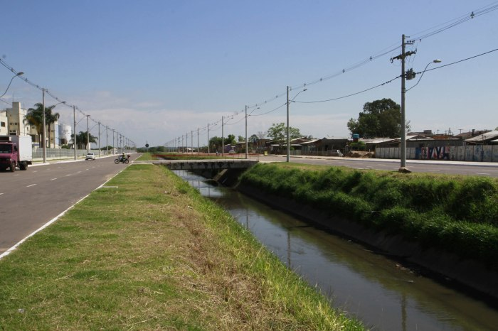 Futuramente via ligará as avenidas Sertório e dos Estados Foto: Ricardo Giusti/PMPA