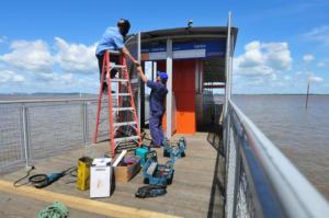 Catamarã da Zona Sul deve começar a operar nesta quarta | Foto: CatSul/ Divulgação / CP