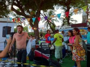 O cantor Otto fez um show de graça no Cais José Estelita em apoio à ocupação. Aproximadamente 10 mil pessoas foram ao local