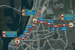 Projeto terá investimento de R$ 4,84 bilhões, unindo prefeitura, Estado e União  Foto: Divulgação PMPA