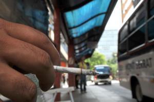 Entra em vigor nova lei contra cigarro | Foto: Mauro Schaeffer