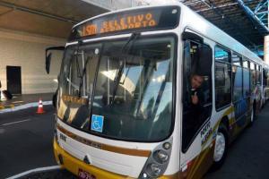 Cresceu procura pela linha de ônibus entre o Salgado Filho e hotéis nos últimos seis meses | Foto: Lucas Barroso / PMPA / Divulgação / CP