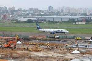 Ampliação da pista do Salgado Filho vai além da segurança | Foto: Samuel Maciel