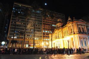 Responsável por manifestações em 2013, grupo realiza panfletagem nesta quinta-feira | Foto: Fabiano do Amaral