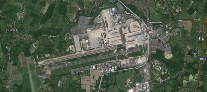 Aeroporto de Gatwick, Londres