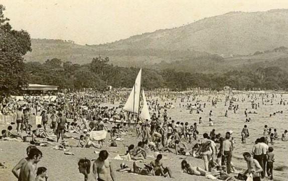 Praia de Ipanema no final da década de 1960