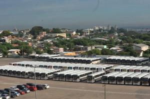 Rodoviários retomaram a solicitação de redução de jornada para 6h diárias | Foto: Mauro Schaefer