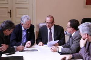 Prefeito e ministro da Aviação Civil tiveram reunião nessa sexta-feiraFoto:  Ivo Gonçalves/PMPA