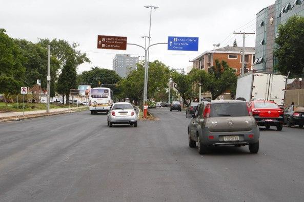Mobilidade entre Centro e zona Sul é qualificada com sentido único nas vias Foto: Ricardo Giusti/PMPA