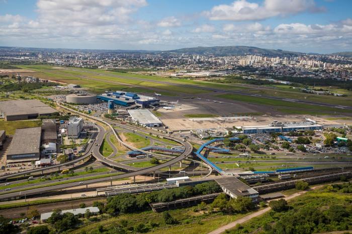 Aeroporto Internacional Salgado Filho em 2013. Foto: Gabriel Heusi