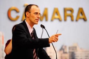 Vereador Marcelo Sgarbossa, em foto de Leonardo Contursi