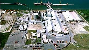 Unidade da Yara no superporto de Rio Grande. Imagem: Yara