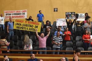 Vereadores mantêm veto de Fortunati ao Feriado da Consciência Negra | Foto: Ederson Nunes / CMPA / CP