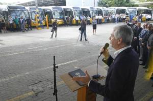 Porto Alegre conta com 50 novos ônibus em circulação | Foto: Ricardo Giusti/ PMPA/ CP