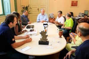 Delegação foi recebida por Fortunati na Prefeitura nesta quinta-feira | Foto: Cristine Rochol/PMPA