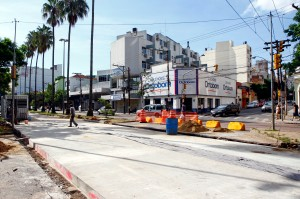 Nas próximas semanas, outros cinco cruzamentos serão bloqueados Foto: Joel Vargas/PMPA
