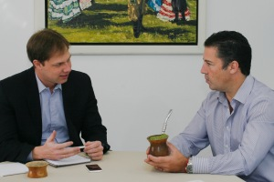 Iniciativa foi discutida durante encontro de Nagelstein e Redecker Foto: Betina Carcuchinski/PMPA