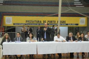 Porto Alegre realiza audiência pública sobre licitação dos ônibus | Foto: Ricardo Giusti