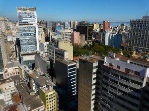 Centro Histórico vista parcial do alto. Foto: Gilberto Simon