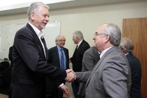 Fortunati participou de audiência com secretário estadual de Transportes Foto: Ivo Gonçalves/PMPA