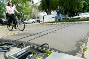 Ideia é mapear número de ciclistas e obter dados para instalar novas ciclovias.  Foto: Marcela Barbosa/Divulgação PMPA