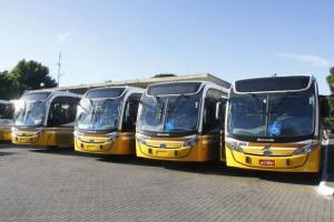 Câmara promulga lei que garante ar condicionado em ônibus na Capital | Foto: Ricardo Giusti / PMPA / CP