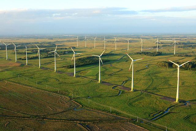 No Rio Grande do Sul, um dos parques eólicos está localizado em Osório, no Litoral Norte |Foto: Itamar Aguiar/Palácio Piratini
