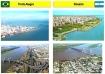 Figura 1a – As semelhanças entre Rosario e Porto Alegre começam na sua condição geográfica...