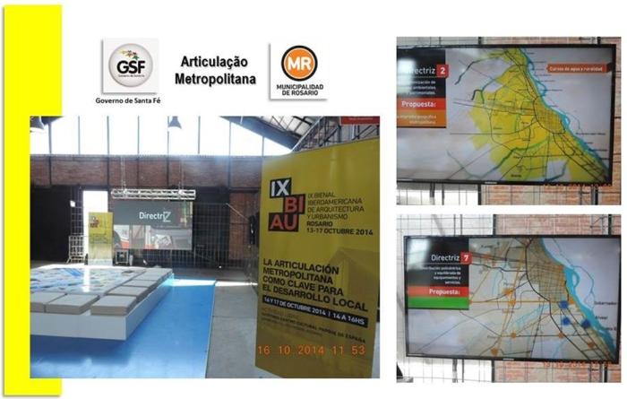 """Figura 8 – Stand do """"Ente de Coordenação Metropolitana"""", correspondente á nossa METROPLAN."""