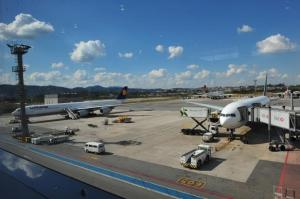 Aeroporto de Guarulhos. Foto: Ricardo Giusti