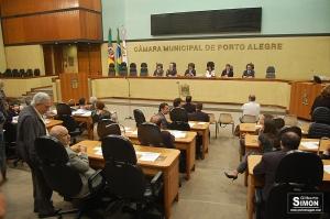 Câmara Municipal de Porto Alegre. Arquivo Porto Imagem