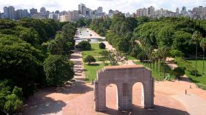 Parque Farroupilha. Foto: Ricardo Stricher/Arquivo PMPA