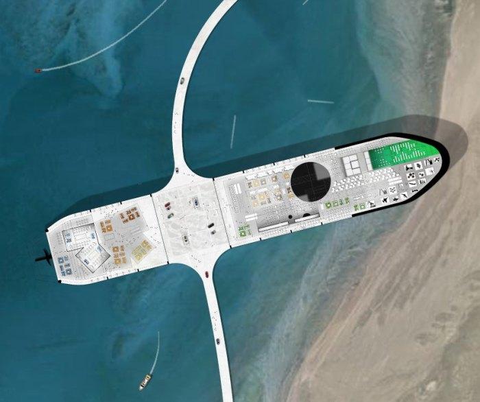 ausgediente Öltanker