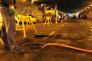 DEP adiou início de obras no túnel da Conceição | Foto: Tarsila Pereira