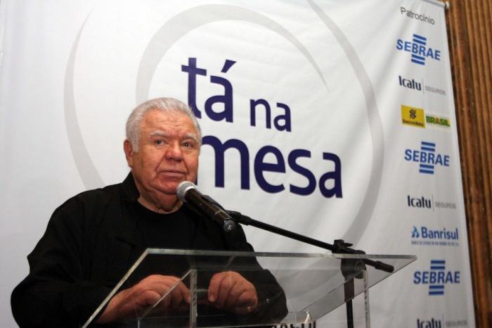 Responsável pelo projeto de revitalização do Cais Mauá e da Orla do Guaíba, Jaime Lerner foi o convidado da reunião-almoço da Federasul|Foto: Ivan Andrade/Federasul