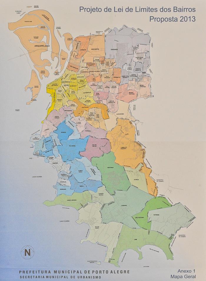 Novo traçado dos bairros da Capital é discutido há quatro anos|Foto: Reprodução/Prefeitura