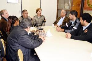 Foto: João Paulo Magalhães/Divulgação PMPA Encontro foi seguido por reunião com a Comissão de Funcionários da Carris