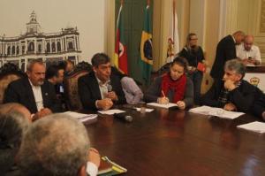 Reunião estabeleceu que grupo de trabalho irá avaliar os equipamentos Foto: Ricardo Giusti/PMPA