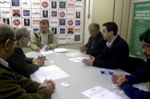 Órgãos firmaram protocolo de intenções de colaboração recíproca nesta terça-feira Foto: Julia Clavelin/Divulgação PMPA