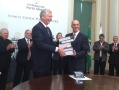 Cais Mauá do Brasil entrega EIA-RIMA da revitalização do Cais Mauá para a Prefeitura de Porto Alegre. (Foto: Marina Manfro)