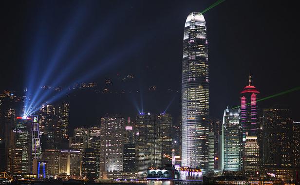 1º Lugar: Hong Kong, China O horizonte de Hong Kong é composto por quase 8 mil prédios