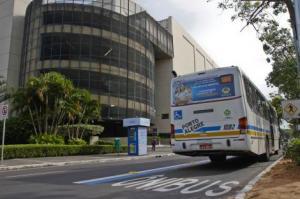 Faixa exclusiva agiliza circulação entre a área central e a região SulFoto:  Joel Vargas/PMPA