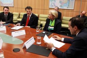 Secretário de Turismo da Capital participou de reunião com ministro e bancada  Foto: Pietro Rubim/Divulgação PMPA