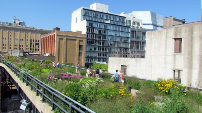 O parque High Line de Nova York é um exemplo claro do tipo de área verde que as pessoas apreciam, mas que acabam sendo uma reflexão tardia no processo do design. (Foto: David Berkowitz)