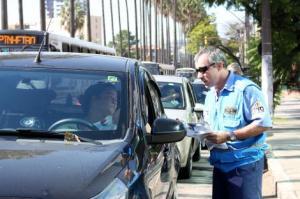 Ações para ampliar conscientização dos motoristas são periódicas Foto: Marcela Barbosa/Divulgação PMPA