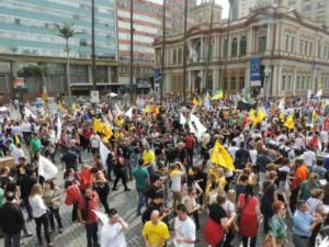 Servidores do RS estão preparados para começar greve a partir de segunda | Foto: Bruna Cabrera / Especial CP