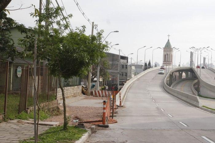 Liberação da área permitirá alargamento de via e abertura de rua Foto: Ricardo Giusti/PMPA